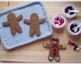 Gingerbread Man...PDF pattern