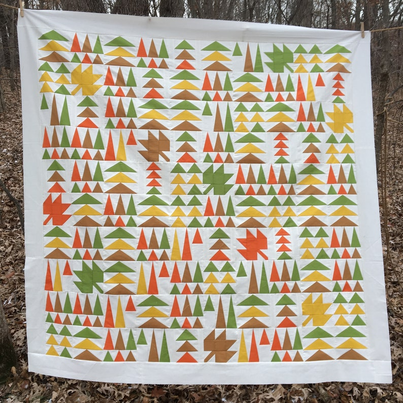 Geese in the Forest Quilt Kit AutumnFall