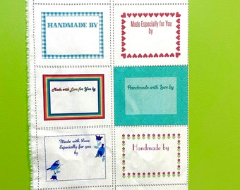10 Fun Quilt Labels by Tracy Miller for Modern Yardage