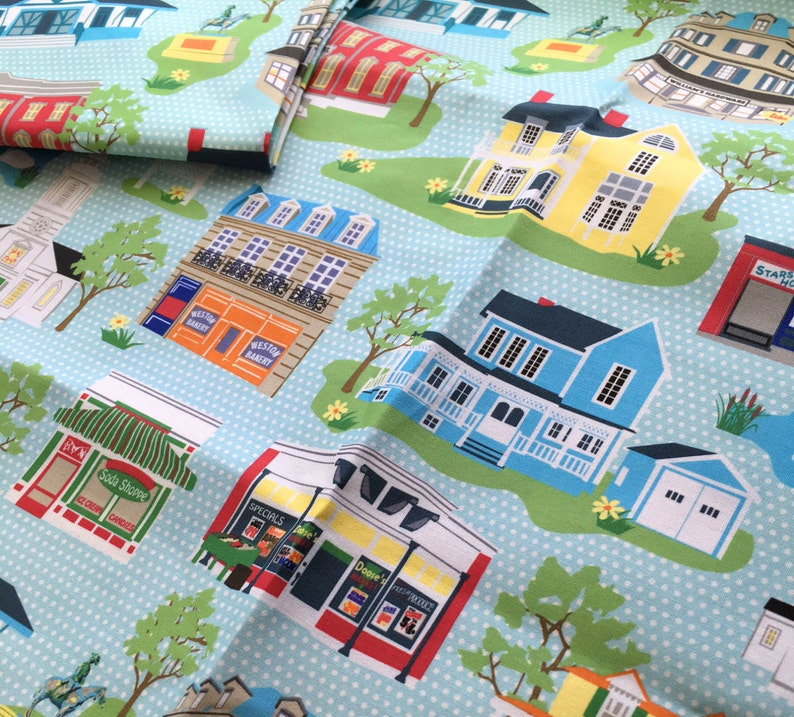 Stars Hollow Fabric 56 wide print on Quilting Cotton image 0