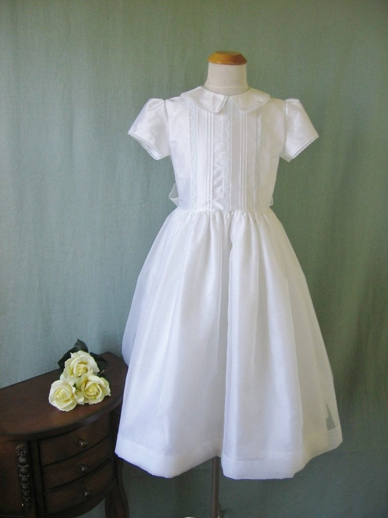 Kathleen Girls First Communion Dress with Sleeves