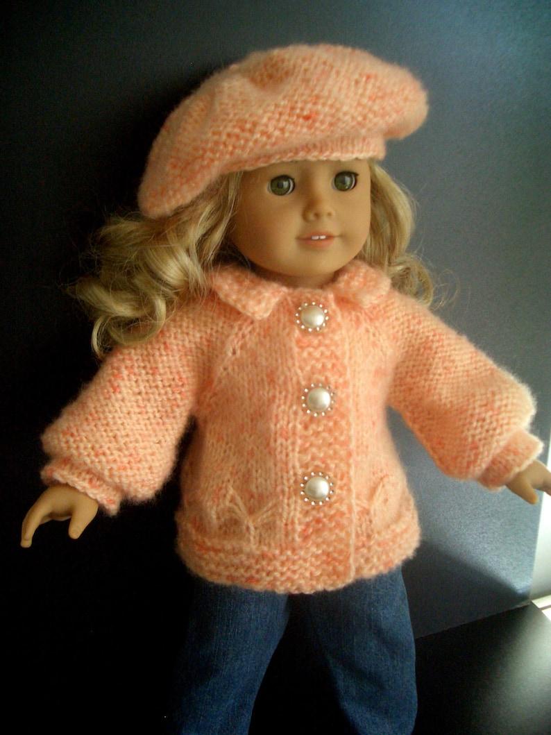 BEGINNER level Knitting pattern for American Girl 18 inch ...