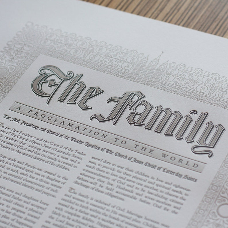 The Family: A Proclamation to the World / New / Modern / image 0
