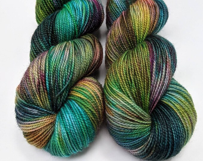 Wicked - Hand-dyed Sock Yarn
