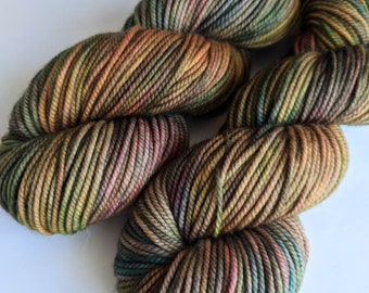 No Dye Left Behind - Hand-dyed Worsted Weight Yarn