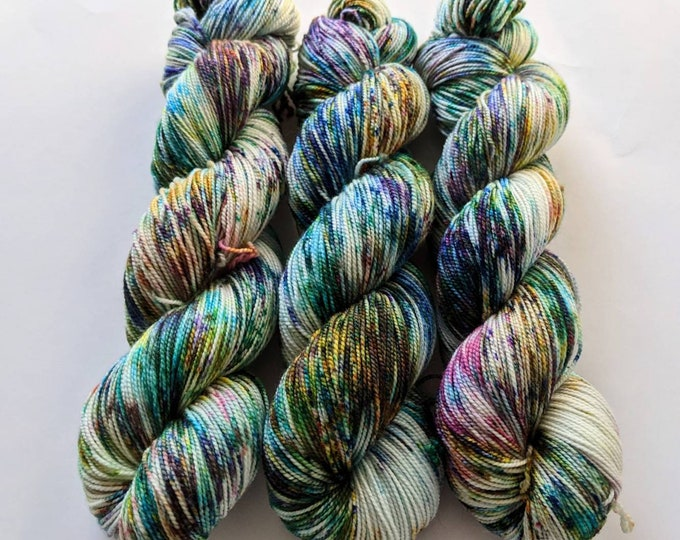 Speckle Madness - Hand-dyed Sock Yarn