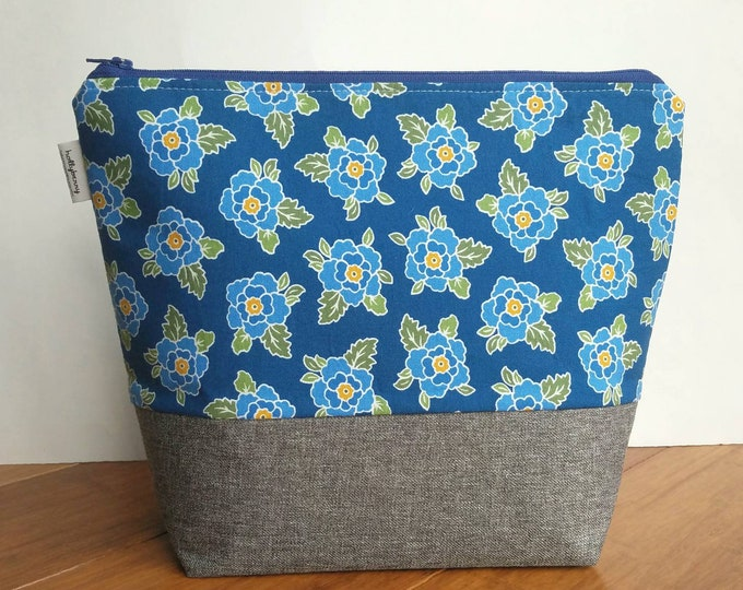 Tall Zipper Bag - Project Bag