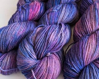 Good and Plenty - Hand-dyed Yak Sock Yarn