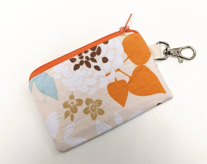Tiny Card Pouch with Clip