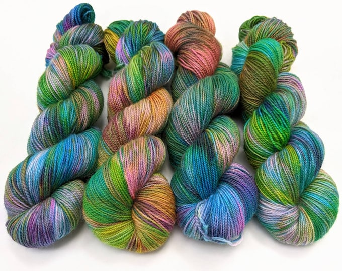 Unexpected - Hand-dyed Sock Yarn
