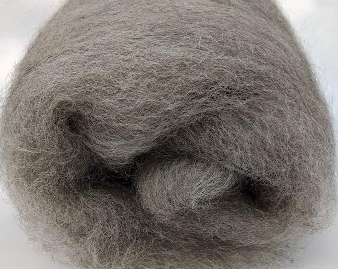 Romney and Alpaca Natural Wool Batt