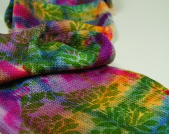 Sparkle Knit Sock Blanks- Rainbow Mums 3 of a kind