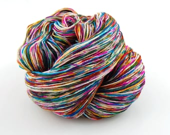Wonder Sock yarn - Graffiti - 465 yards 100 grams- 72/25 Superwash Blueface wool and Nylon