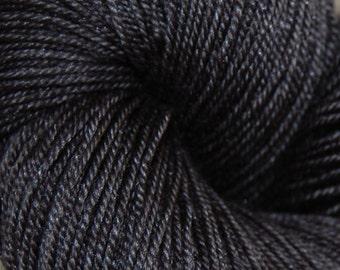 "MYS 622 Yarn ""ASHES"" -superwash merino,yak, silk yarn - 100 grams 400 yards"