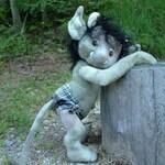 Troll Tot, custom order for Jenn Hildreth