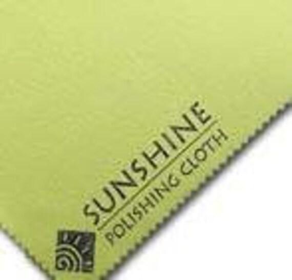 Jewelry Polishing Cloth, Sunshine Polishing Cloth, Metal Polishing Cloth - 8x5 inches...Simply the Best