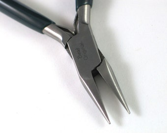 Bead Original Chain Nose Plier, Spring Loaded Jewelry Pliers, Small Tip Pliers for Making Jewelry and Crafts, Needle Nose Pliers
