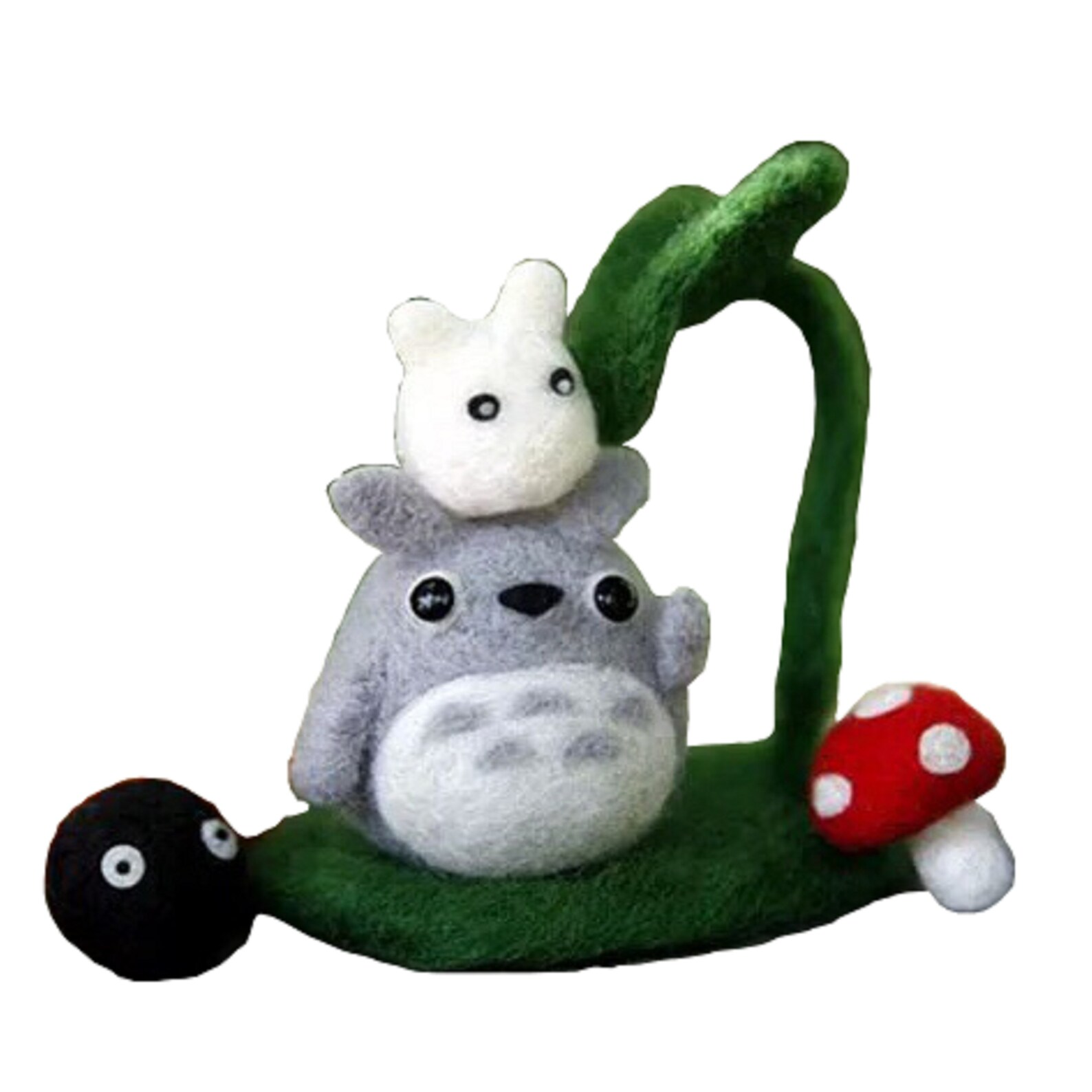 Wool Felting DIY Kit with Tools - Baby Totoro Friends (with English Instructions)