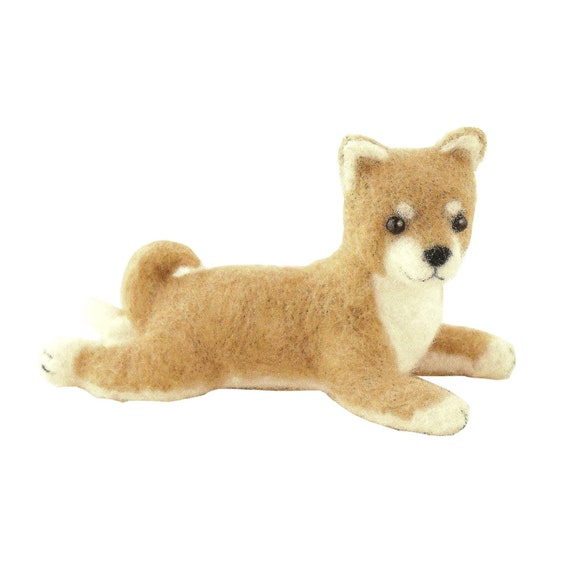 Long Coat Chihuahua Dog with English Instructions Cool Beans Boutique Wool Felting DIY Kit Imported from Japan