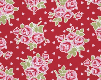 Tanya Whelan, VALENTINE Rose Collection, Falling Roses and Hearts in RED, yard