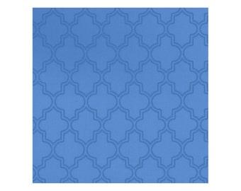 Pearl Essence in Royal blue from Maywood Sudios, quartrefoil, Yard