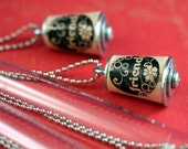 BFF Cork Necklace SET in Test Tubes from UNCORKED