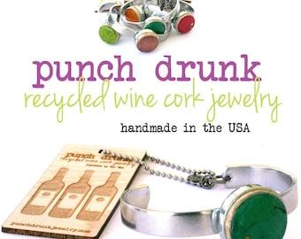 Wine Cork Bracelets, Wine Lover Gift, Wine Lover Bracelet, Silver Adjustable Bracelet, Bangle Cuff, Vineyard Wedding Gift, Bridesmaid Gift