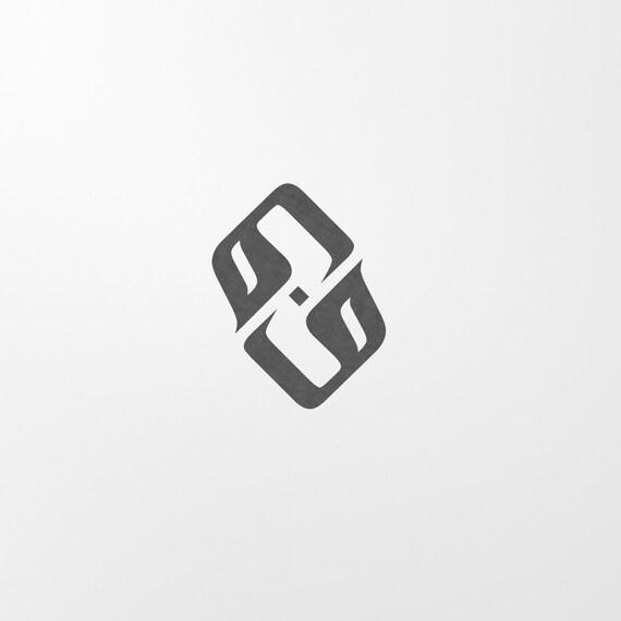 Digital Custom Monogram In Arabic Font 2 Letters Etsy