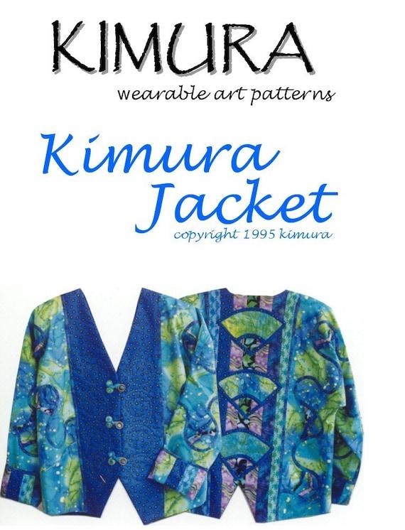 Stephanie Kimura S Kimura Jacket Pattern Etsy