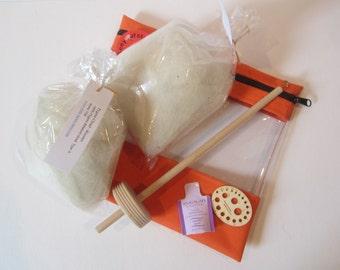 100% Natural Pygora Spinner's Kit