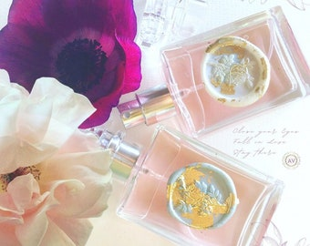 Botanical Perfume La Vie en Rose Jasmine Neroli Tuberose Voile de Parfum