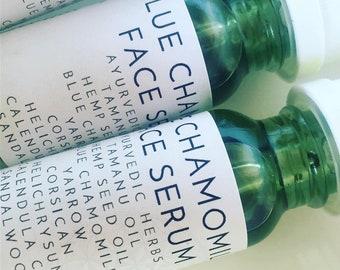 SALE Organic Sandalwood Helichrysum Blue Chamomile Facial Serum Anti-Inflammatory 25.00 usually 43.50