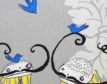 Swashbuckles - PRINT - Various Sizes