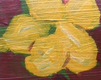 Yellow Blossom ACEO
