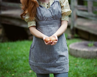 Gathering Apron Digital PDF Sewing Pattern