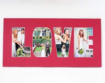 name word photo mat personalized custom cut matting etsy