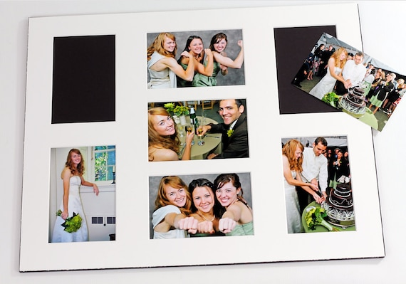 Collage Grouping Photo Mat Fits 16x20 Frame Multi Etsy