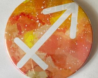 """Sagittarius 3"""" Pin"""