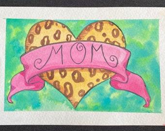 MOM Original Postcard