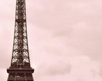 Parted - Eiffel Tower, Paris Art Print, Paris Travel Landscape Photography