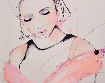 A Collective Sense - Fashion Illustration Art Print