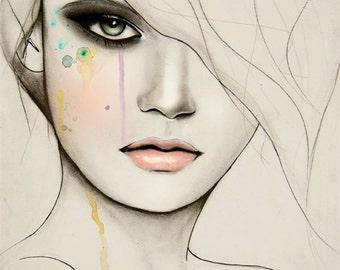 Division 2 - Fashion Illustration Art Print