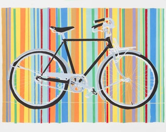 Bicycle Art Print - Ryan's Freedom Deluxe 11