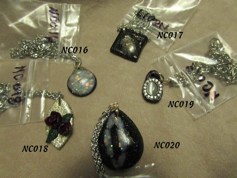 Polymer clay Necklaces 16 to 20