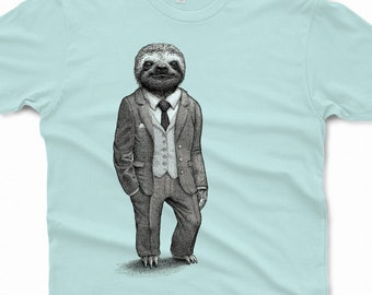 c53cbdb67 Sloth Shirt Mens Shirts Sloth T Shirt Birthday Gift Graphic Tee Funny Shirt  Boyfriend Gift Brother Gift Stylish Sloth Mens Shirt