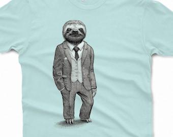 4c21dc089 Sloth Shirt Mens Shirts Sloth T Shirt Birthday Gift Graphic Tee Funny Shirt  Boyfriend Gift Brother Gift Stylish Sloth Mens Shirt