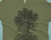 Nature Lover Gift - Tree Shirt - Nature Shirt -  Men's Tshirt - Men's Gift - Enchanted Forest - Nature Gift