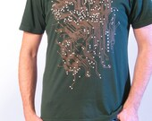 Computer Shirt - Circuit Board Shirt - Computer Geek Gift - Men's Gift - Geek Tshirt - Circuit Board Art