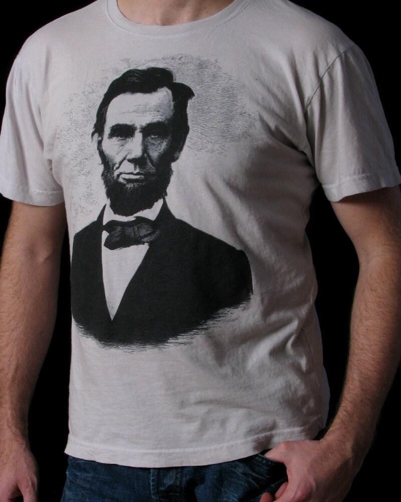 Abraham Lincoln chemise - T-shirt Lincoln - Abe Lincoln T-shirt - histoire hommes de l'Amérique - histoire Buff Shirt - S à travers 3XL tees 49a1b0