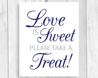 picture about Free Printable Candy Buffet Signs named Sweet buffet indication Etsy